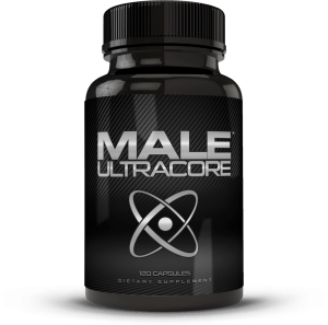 a bottle of male ultracore