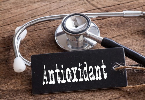 antioxidant tag with stethoscope