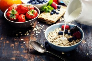 oats and berries goes well