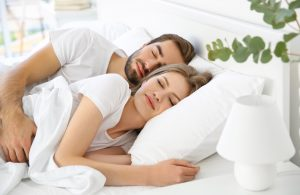 couple sleeping soundly