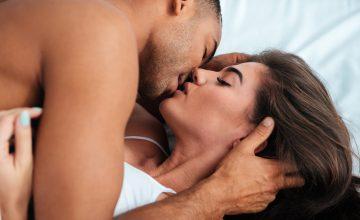 sensual kisses