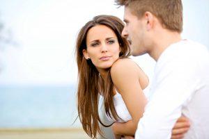 serious talk between a couple