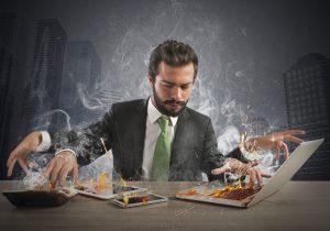 multitasking on gadgets